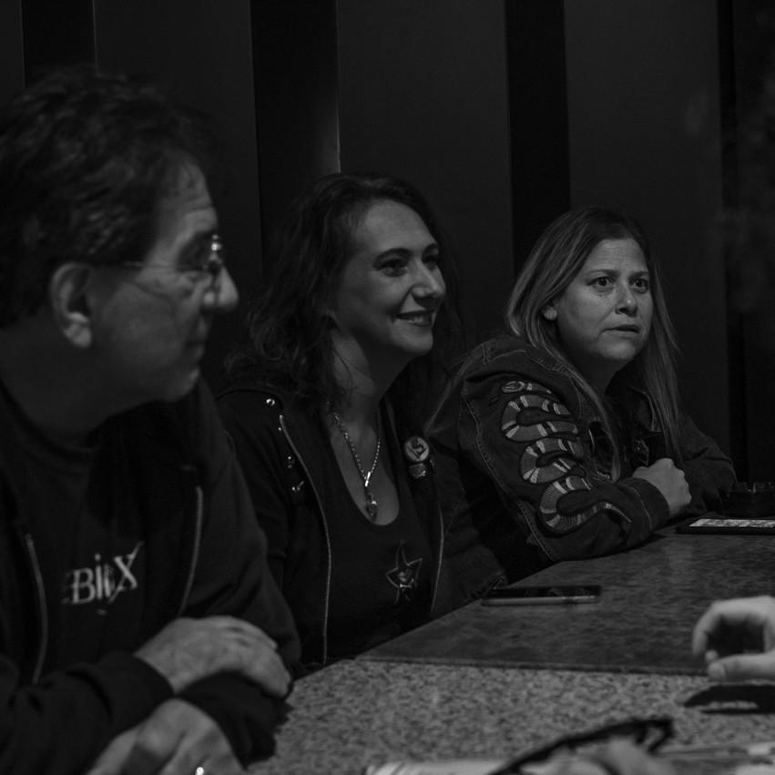 Lauren Hedges Photography EBX Metal Babe Mayhem Rainbow Lounge Interview