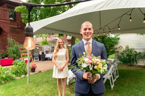Lauren Hedges Photography - Backyard Pandemic Wedding - 2020