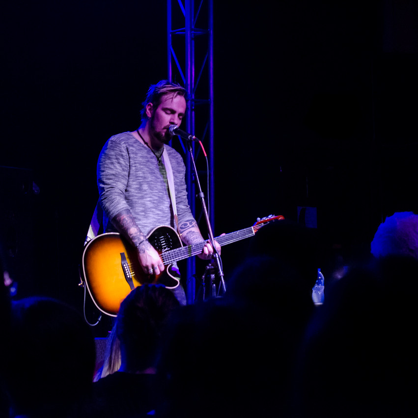 Lauren Hedges Photography Adam Gontier Diesel Concert Lounge Detroit
