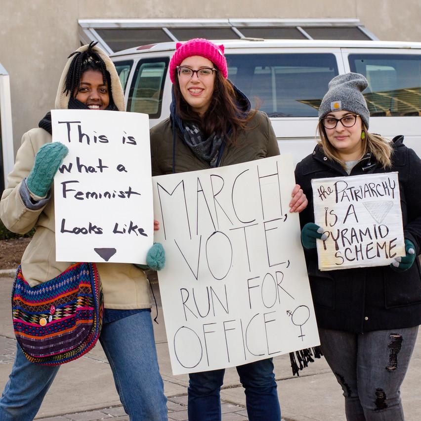 Lauren Hedges photography Windsor Women's March 2018