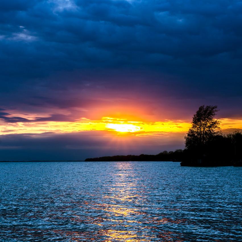 Lauren Hedges Photography Lake Erie Sunset