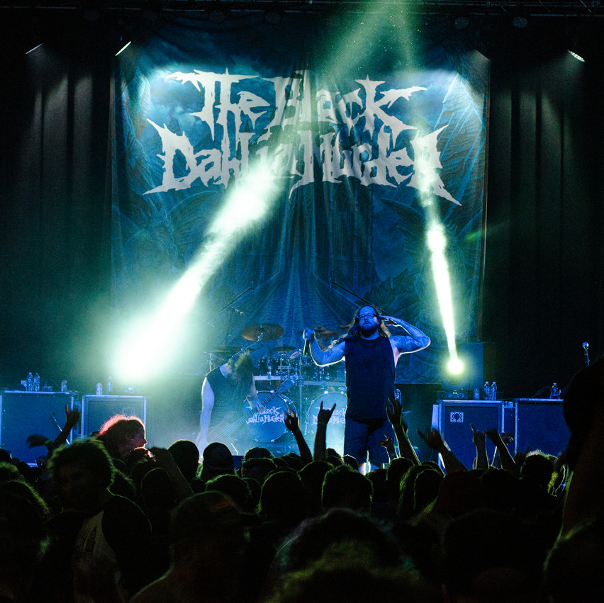 Lauren Hedges Photography Summer Slaughter Tour Black Dahlia Murder