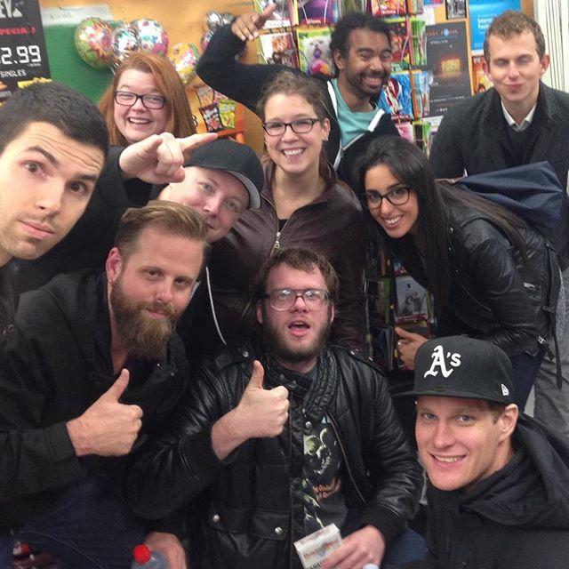 Well that was fun! @blacktoprecords @mc_lars @fr33socksforyou @leespalace #DrinkingQuestGame #Toronto #LitHop