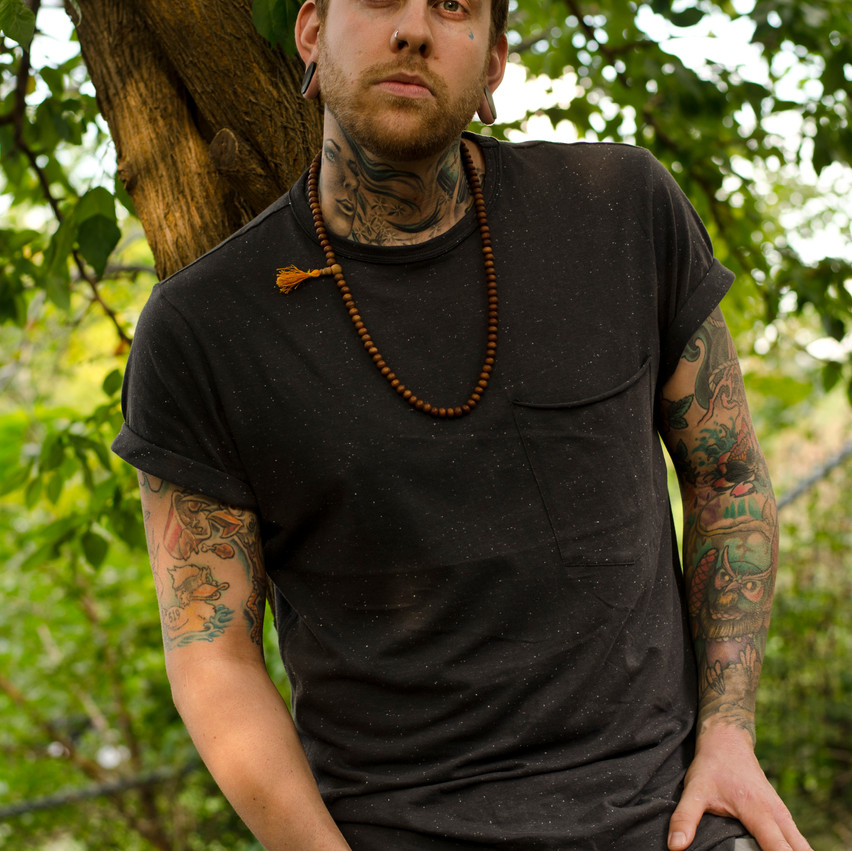 Windsor Photography Portrait Man Forest Tattoos