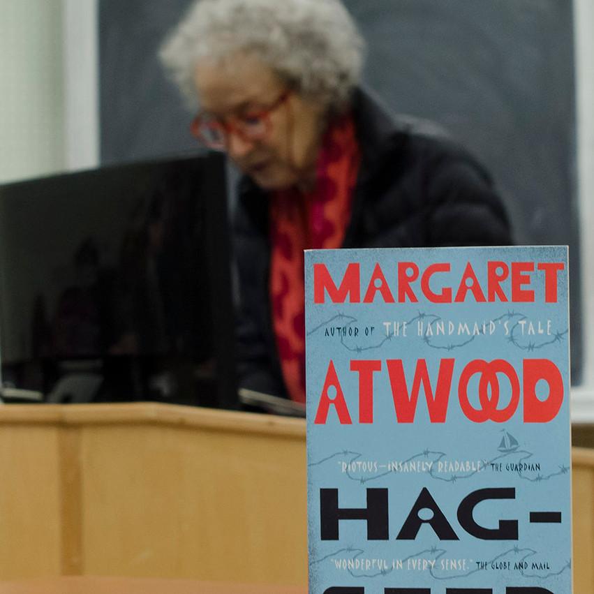 Lauren Hedges Photography Margaret Atwood University of Windsor