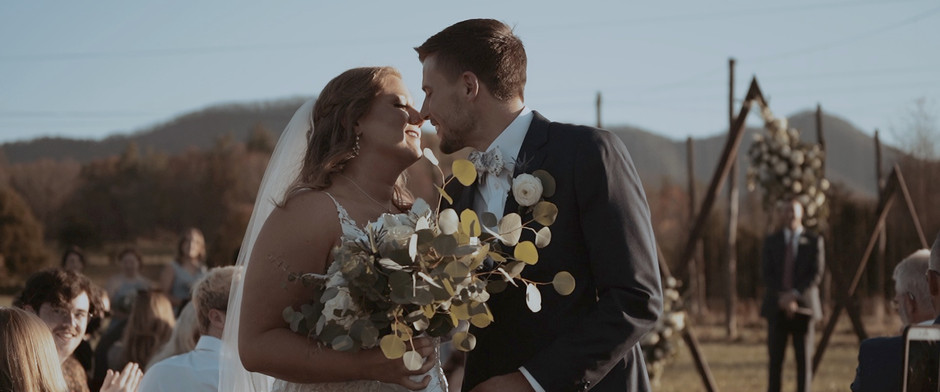 Virginia Wedding Videographer // Madison and Bailey at the Farm at Glen Haven