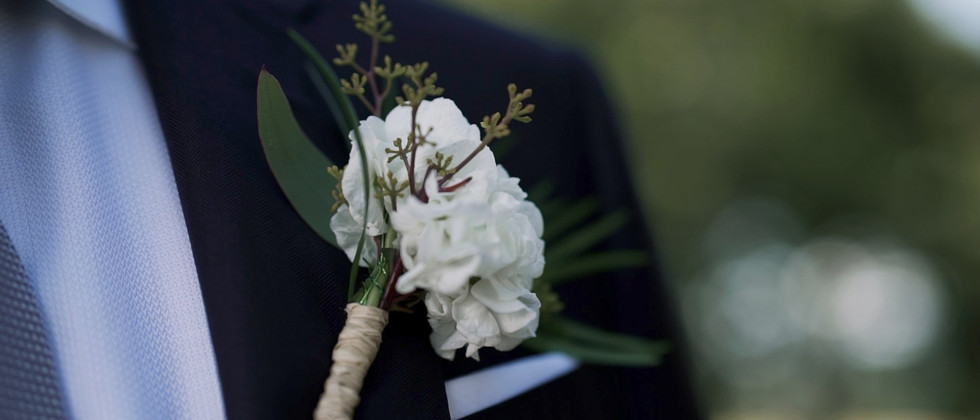 groom flower boutonniere foxlease farm
