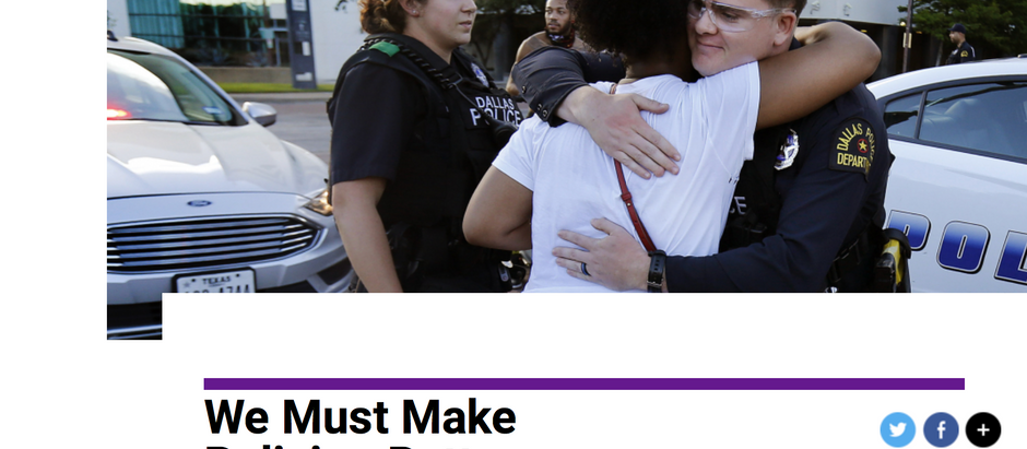 Let's Make Policing Better without Defunding/Dismantling