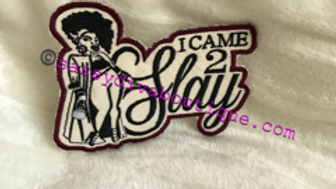 """SLAY"" IRON ON PATCH"