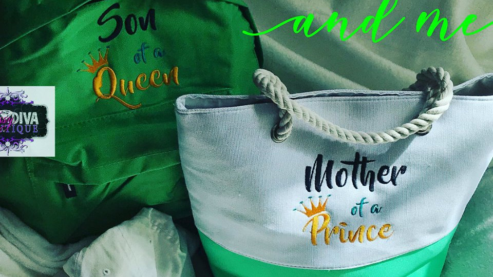 MOM AND SON BAG SET