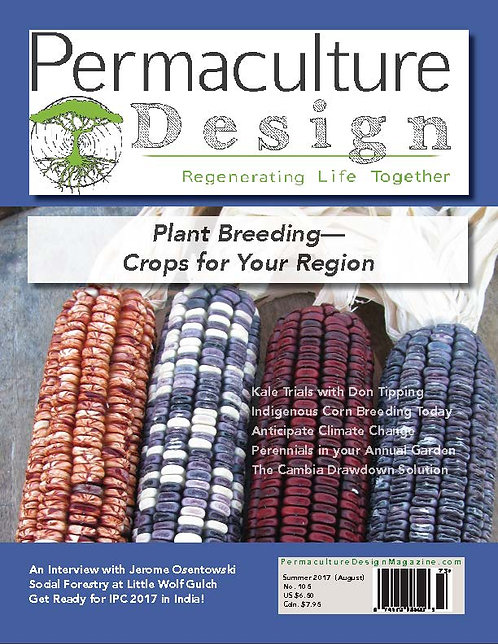 #105 Summer/August 2017 |Plant Breeding-Crops for Your Region