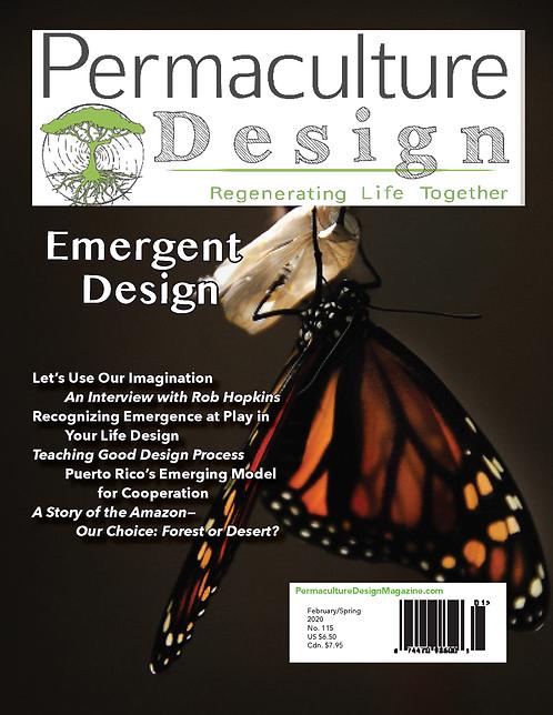 #115 - February/Spring 2020: Emergent Design
