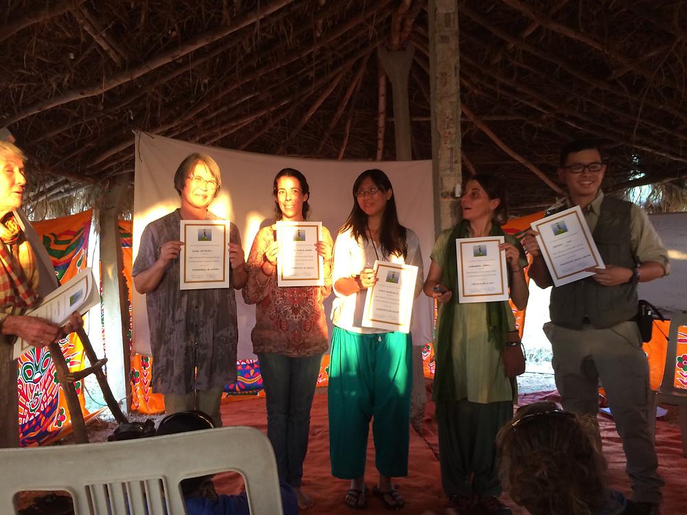 Diplomas awarded!