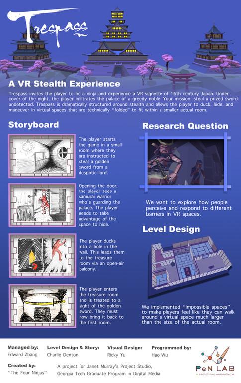 Trespass VR poster