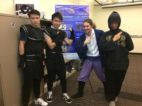 Trespass team photo