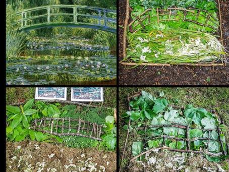 Nature Connections 19 - Scavenger Walk, Famous Paintings & Build a nest