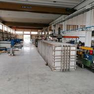 Camera di sterilizzo in produzione