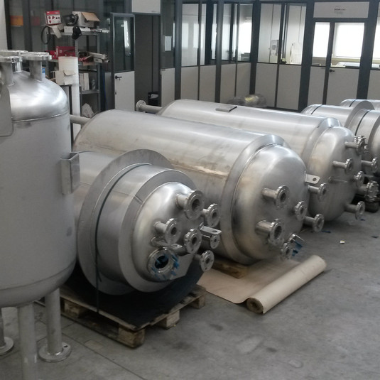 PED Reactors and Mixers for chemical industry