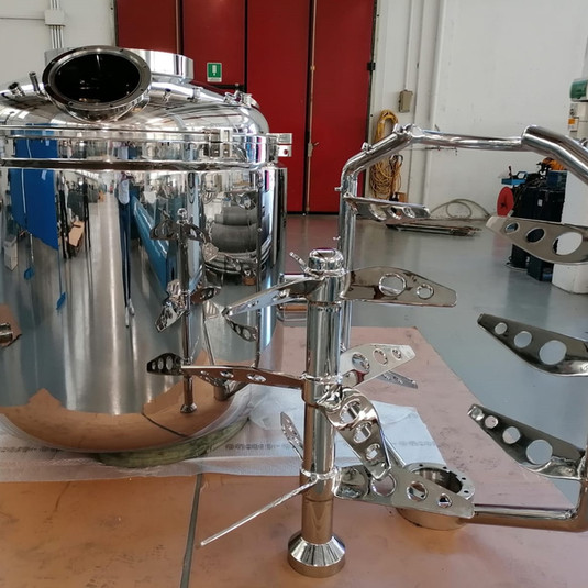 2000L vessel for the pharma industry - AISI 316