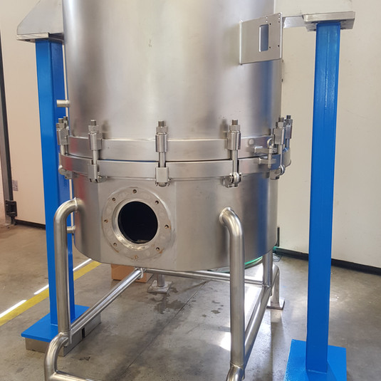 Filter for industrial palnts