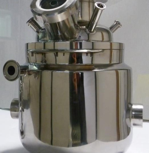 10L vessel for turbo emulsifier for cosmetic industry