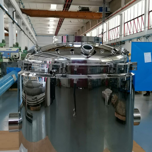 Mixer vessel in AISI 316