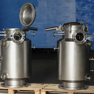 Filters to be mounted on vessels for pharma industry in AISI 316L