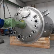 Reattore con agitatore Industria Chimica