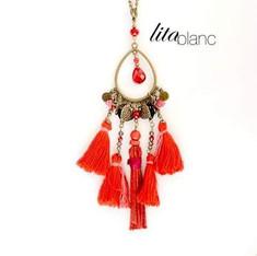 Lita Blanc _Collier Été Indien_#bijoux #