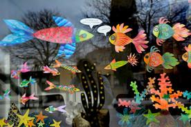 Atelier Coloriage et Mural sur Fenêtre