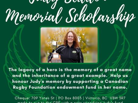Judy Seddon Memorial Scholarship