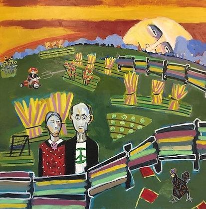 """Putin Rising"" by Anne Skok"