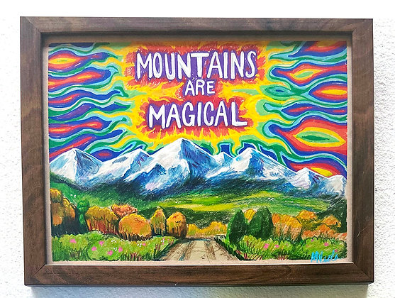 Mountains are Magical