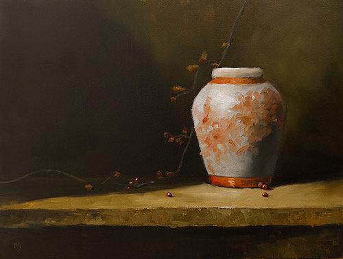 Orange Ginger Jar