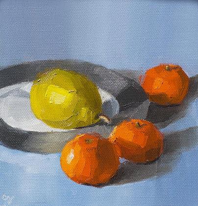 """Fruit Plate"" by Cindi Yaklich"