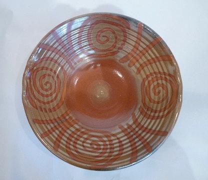 Large Shino Bowl