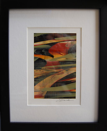 """8""""x10"""" Original Acrylic Painting, Matted & Framed  #2"""