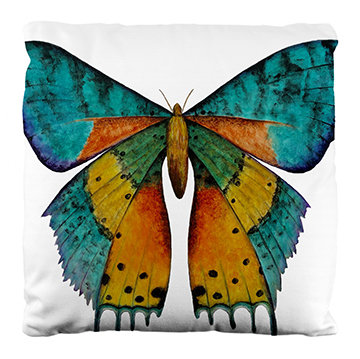 Madagascan Moth Pillow