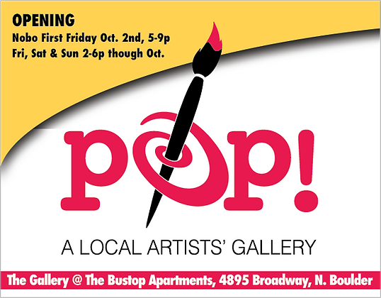 POP! /  The Gallery @ The Bustop Apts.