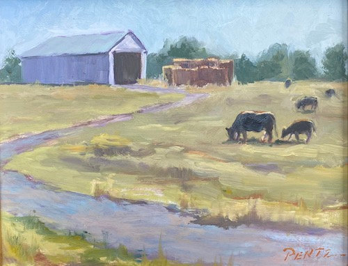"""Morning Grazing"" by Lisa Pentz"