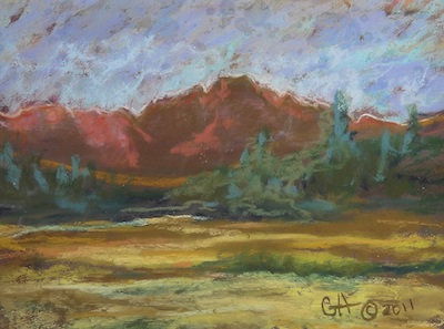 """""""Rocky Mountain Afternoon"""" by Gretchen Acharya"""