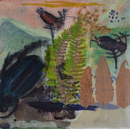 """Waterbugs II"" by Linda Lowry"