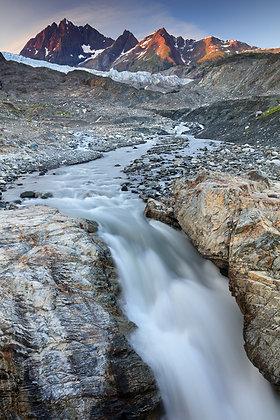 Riggs Glacier and Black Mountain