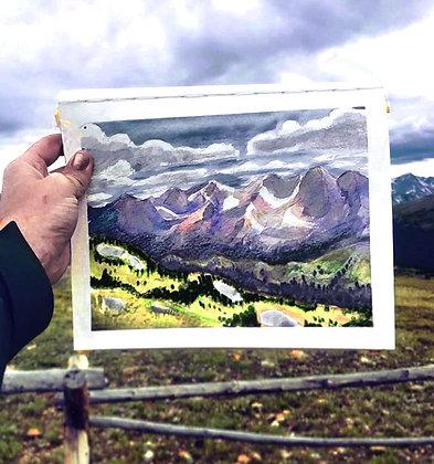 Those Rocky Mountains