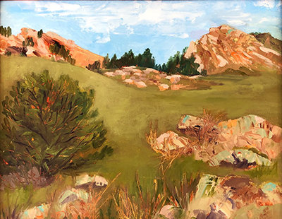 """Dakota Ridge"" by Linda Sole Faul"