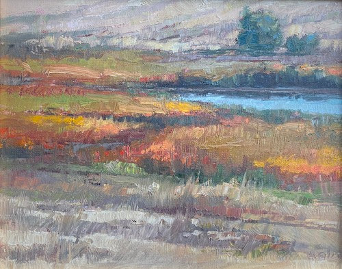 """""""Cattail Oasis"""" by Kathleen Reilly"""