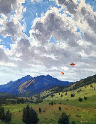 """Dakota Ridge View"" by Lindsay Jane Ternes SECOND PLACE"
