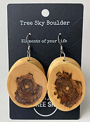 Norwegian Maple Earrings