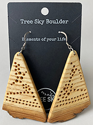 White Ash Earrings