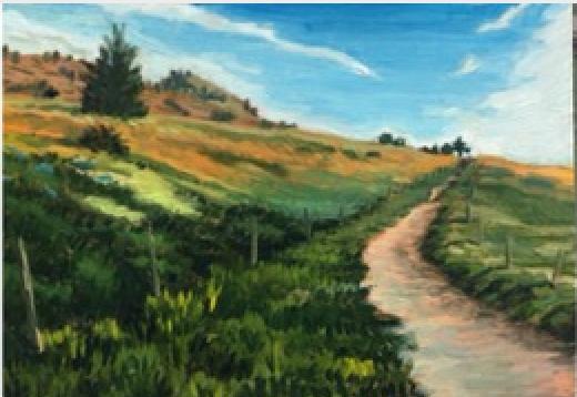 """Dakota Ridge Trail"" by John Sterner"